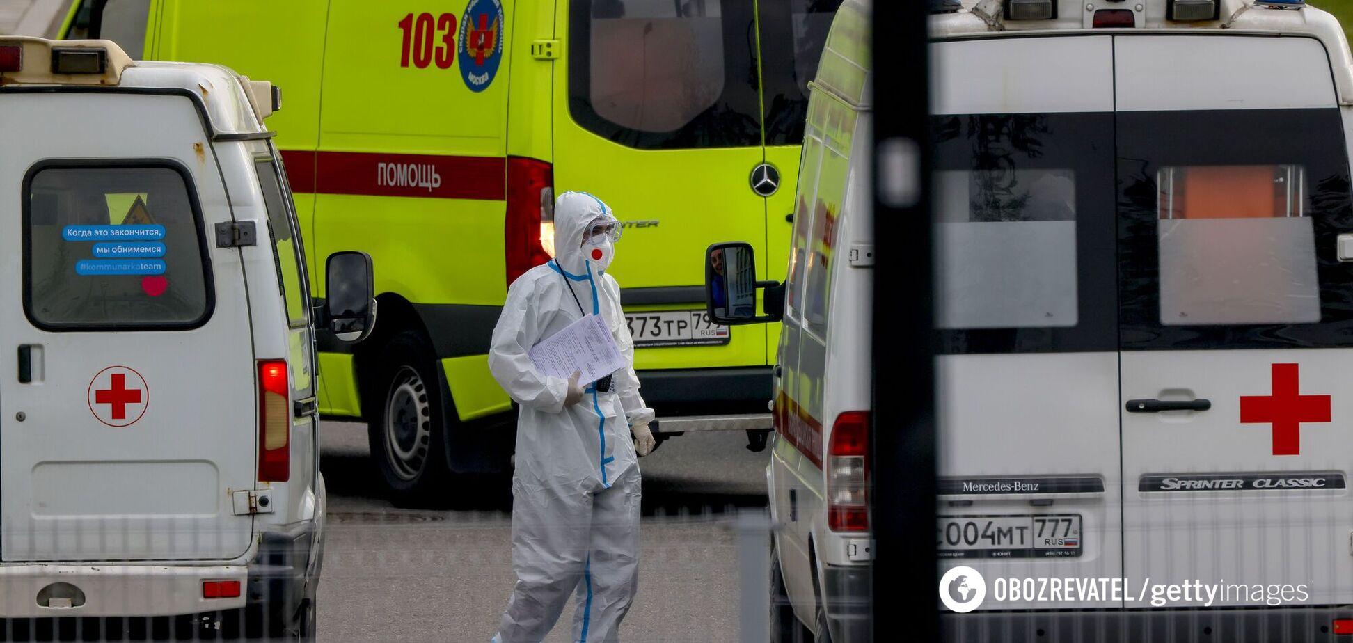 Россия побила абсолютный рекорд по числу смертей от COVID-19 за неделю