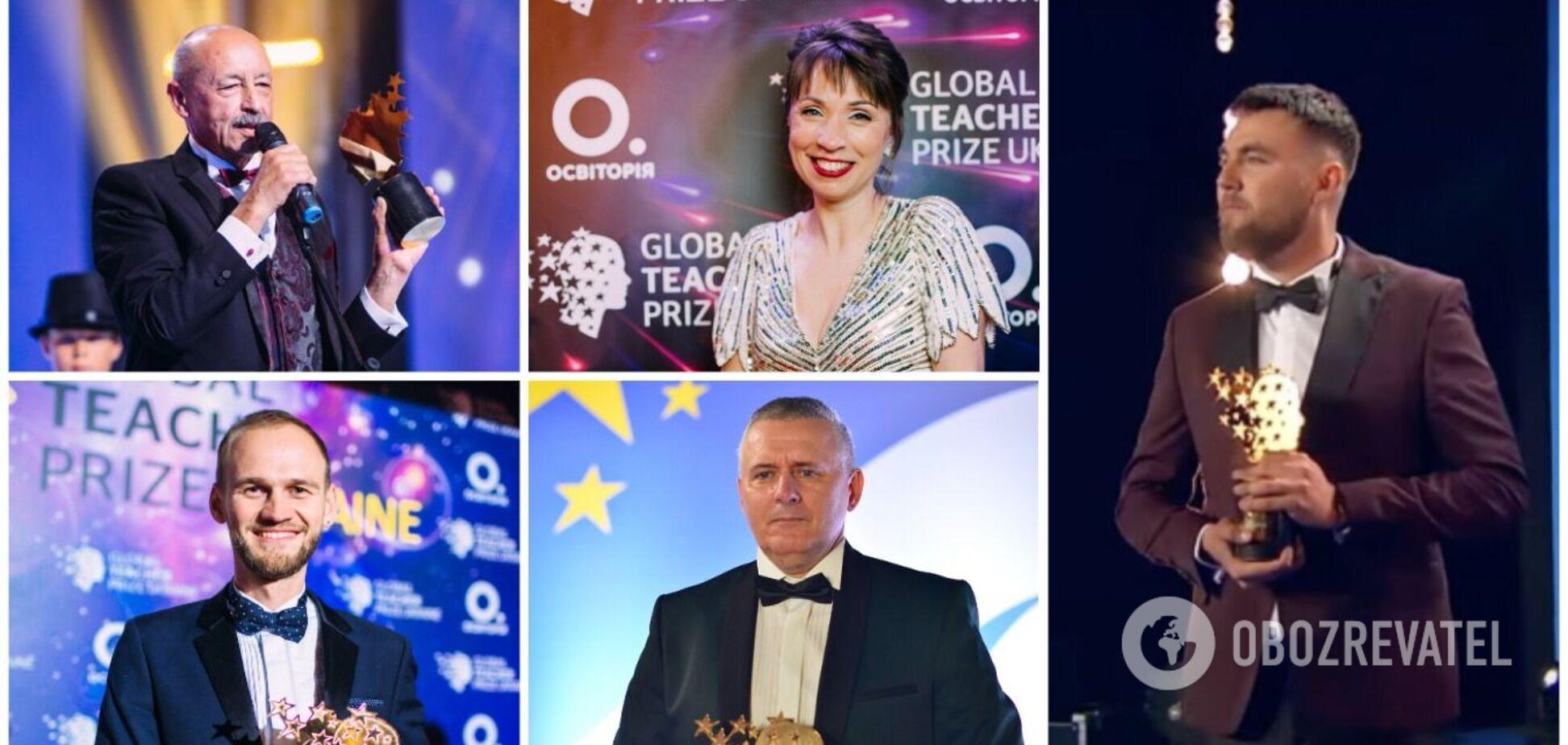 Переможці Global Teacher Prize Ukraine 2017-2021