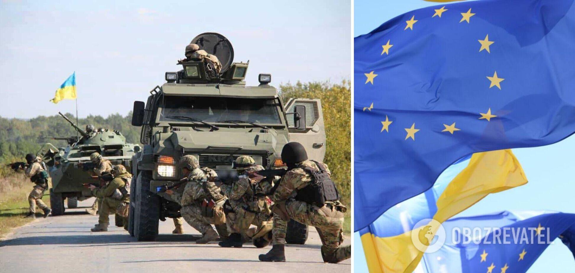 МЗС – про створення європейської військово-навчальної місії в Україні: це відповідає інтересам