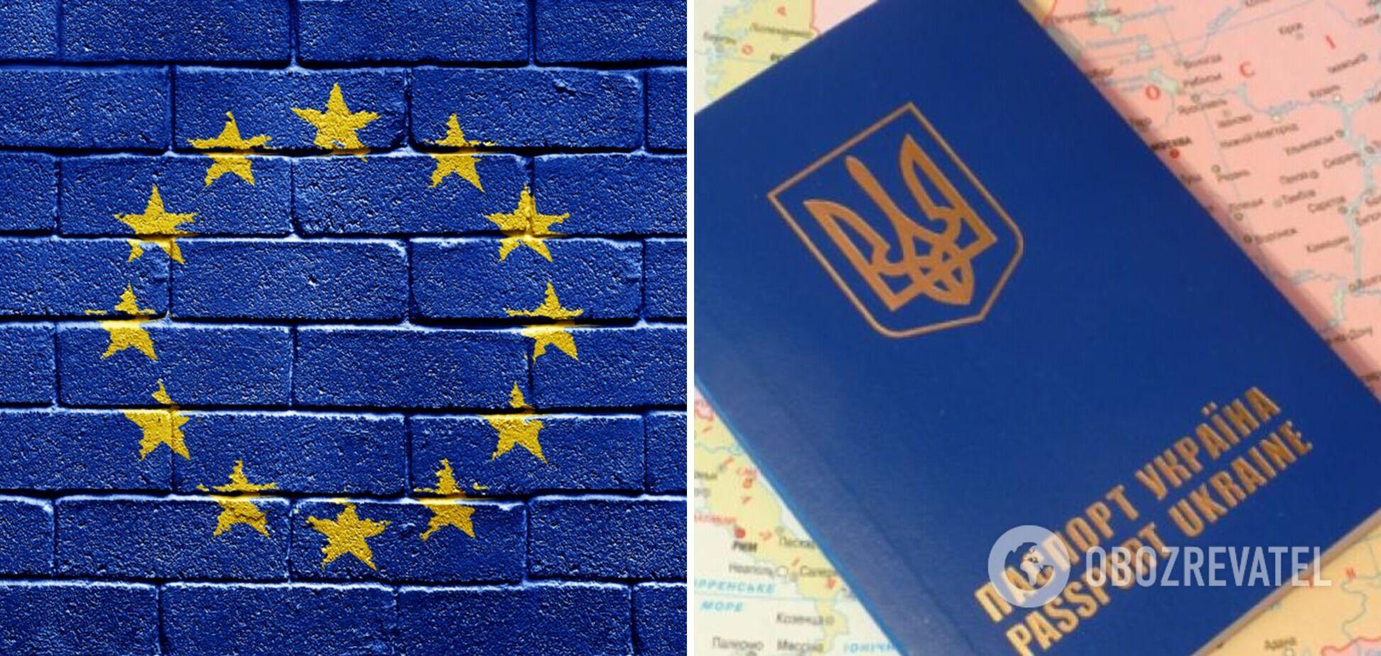 В ЕС заявили, что не рассматривают отмену безвиза для Украины, но сделали важное уточнение