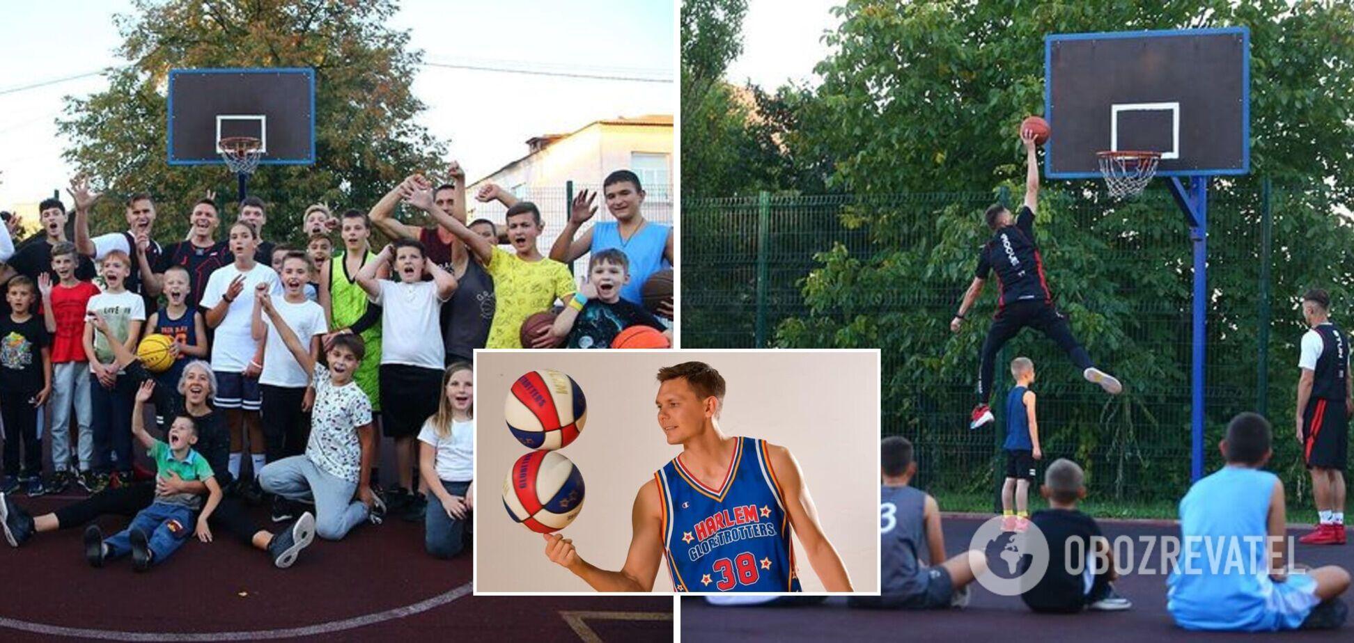 Кривенко просуває український баскетбольний рух середовища школярів