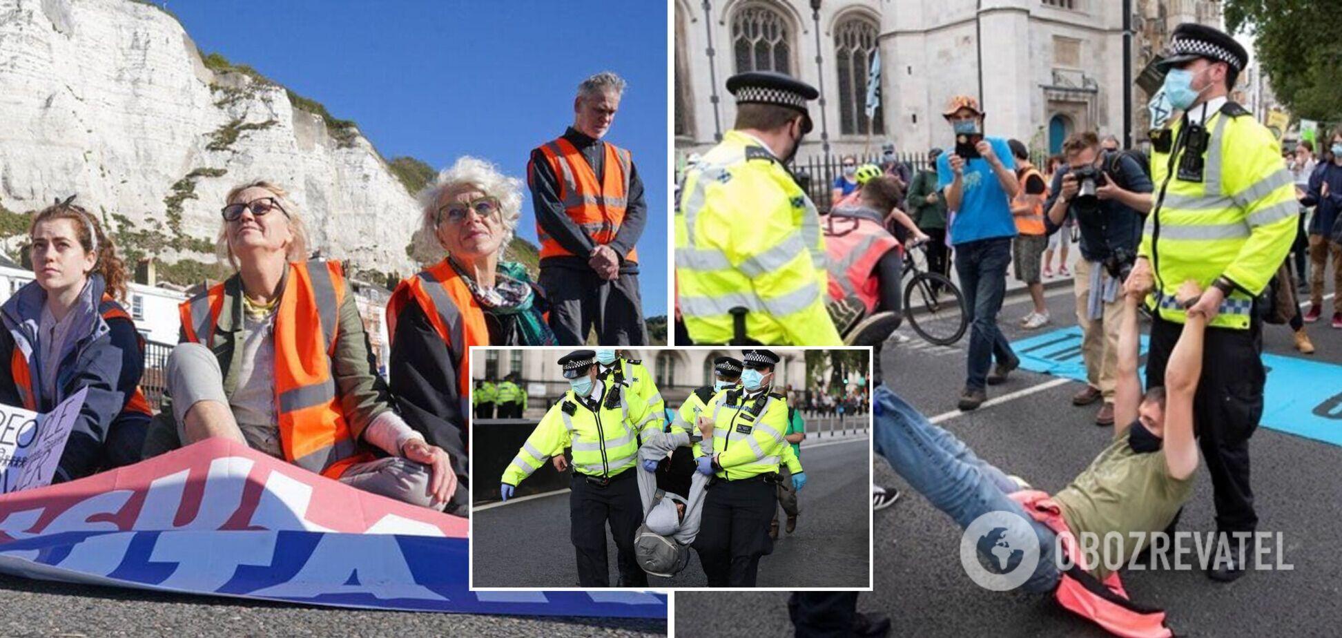 У Великобританії протестувальникам проти змін клімату загрожують більш суворі покарання