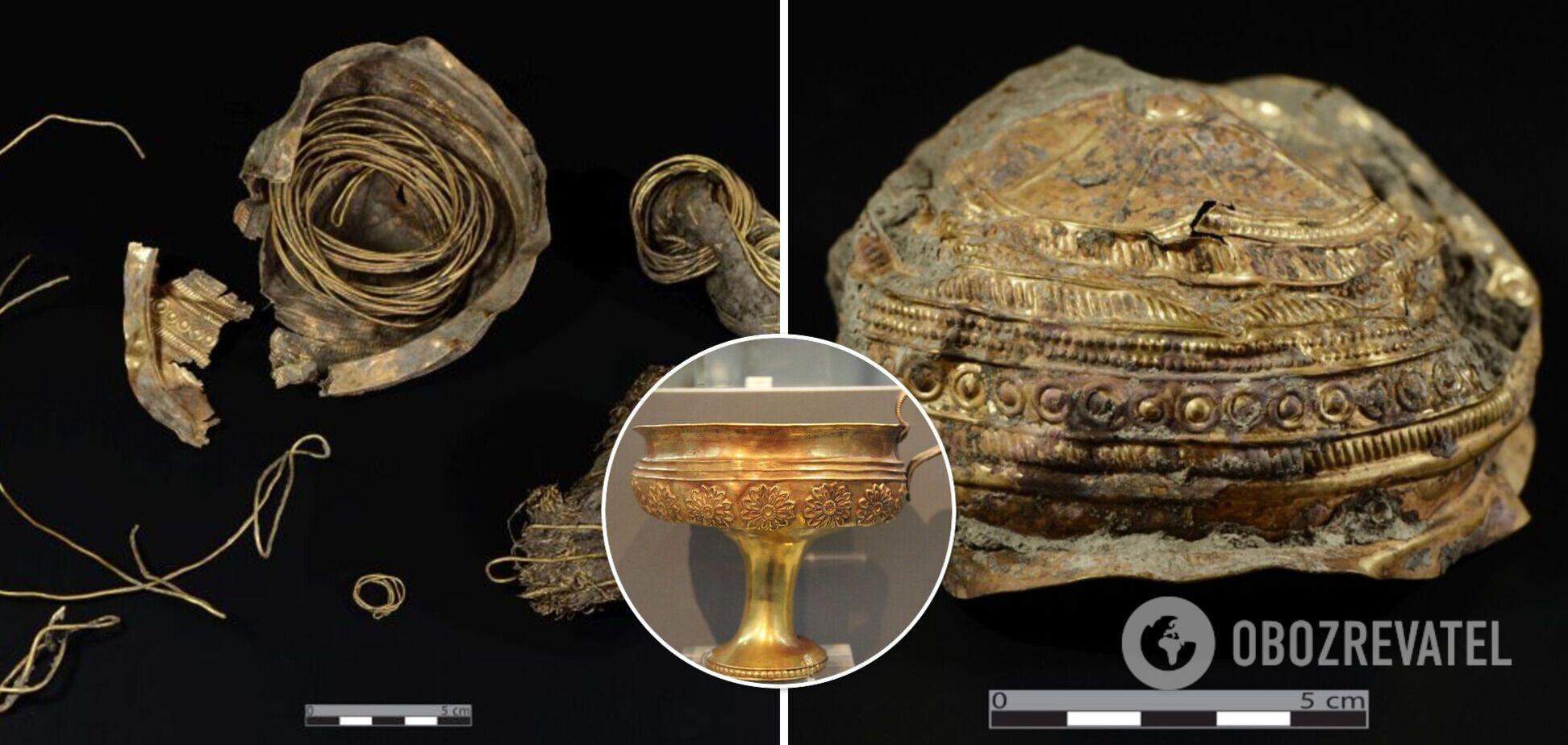 В Австрії під час розкопок знайшли золоту чашу, якій близько 3 тис. років. Фото