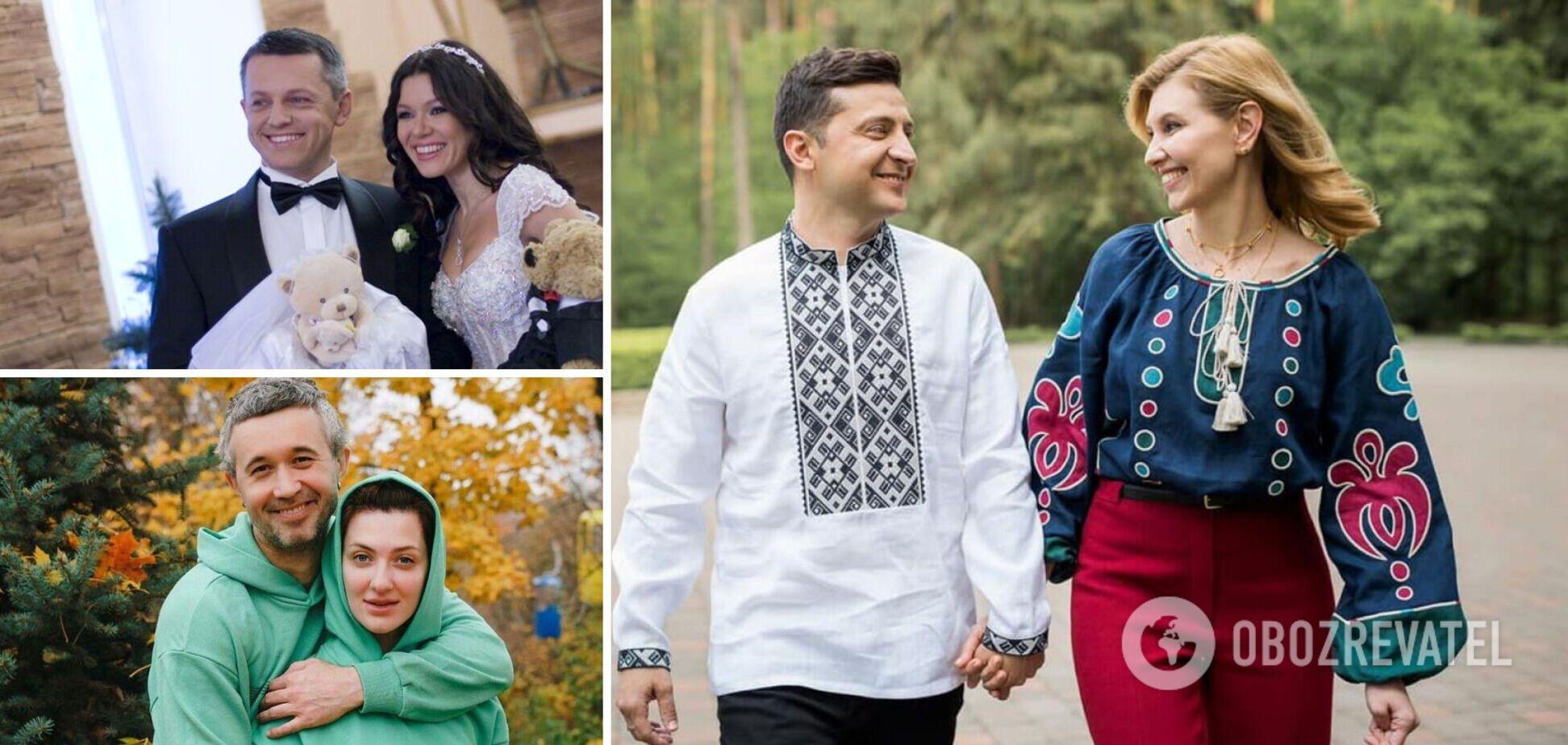 Звездные украинские пары, которые женаты более 15 лет