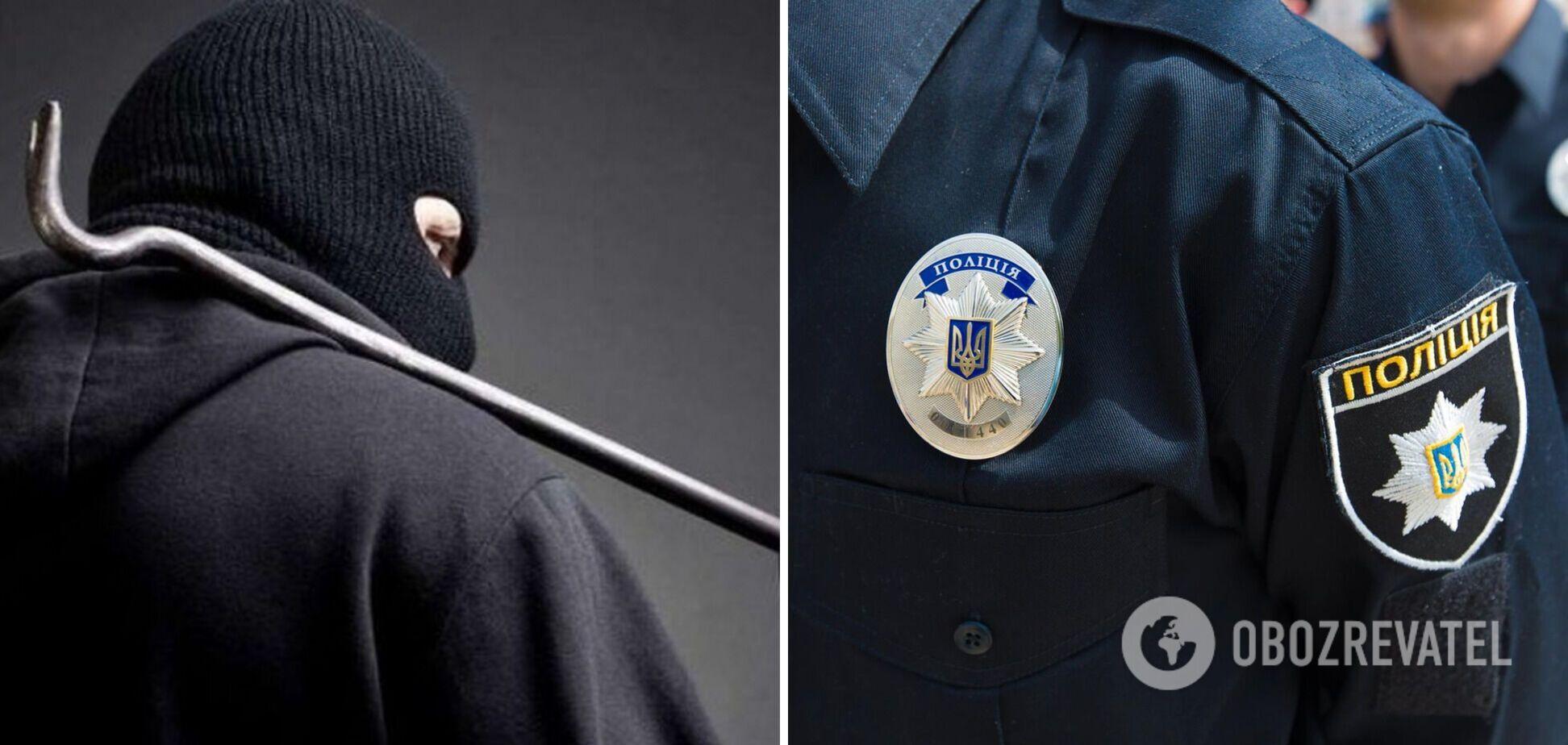 Поліцейські пограбували злодія