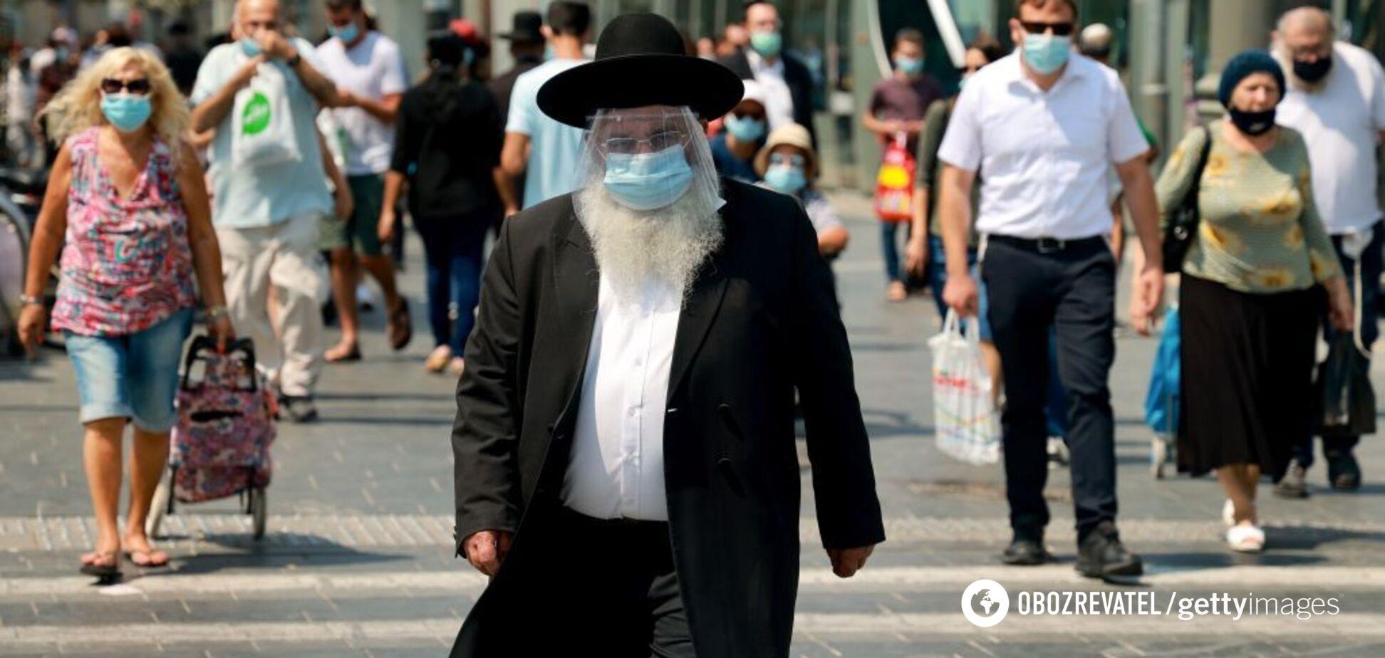 В Ізраїлі щеплення третьою дозою стало обов'язковим для отримання COVID-паспорта