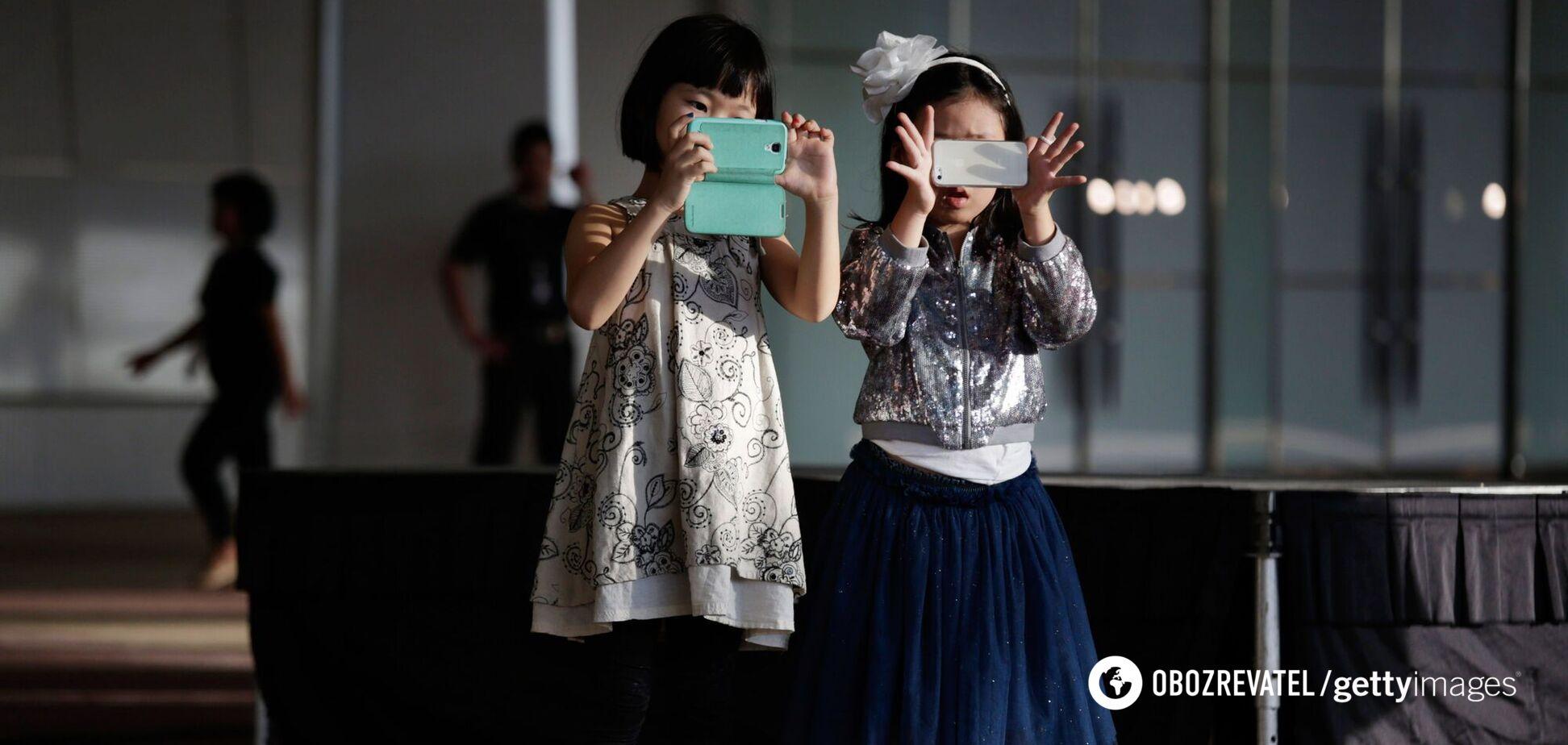 Вплив телефонів на дітей