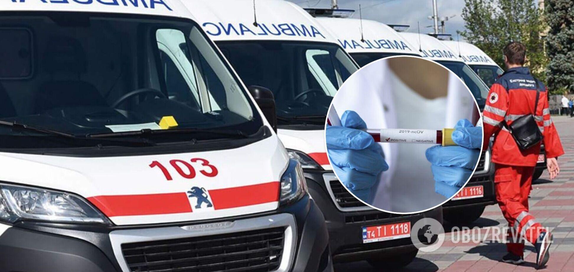В Днепре мужчина с COVID-19 умер в скорой, отказавшись от госпитализации