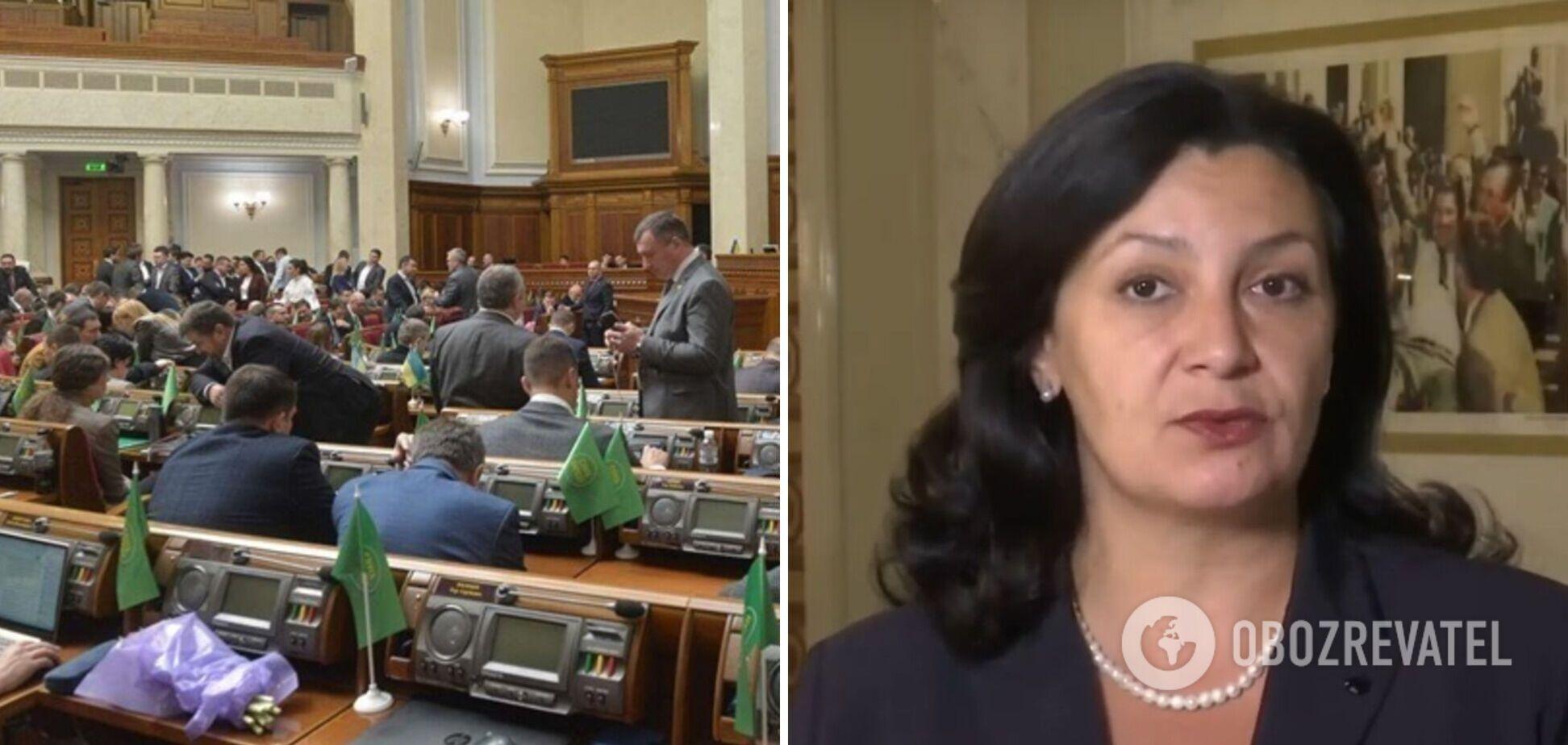 Влада займається фальсифікацією результатів скандального голосування за закон про олігархів – Климпуш-Цинцадзе