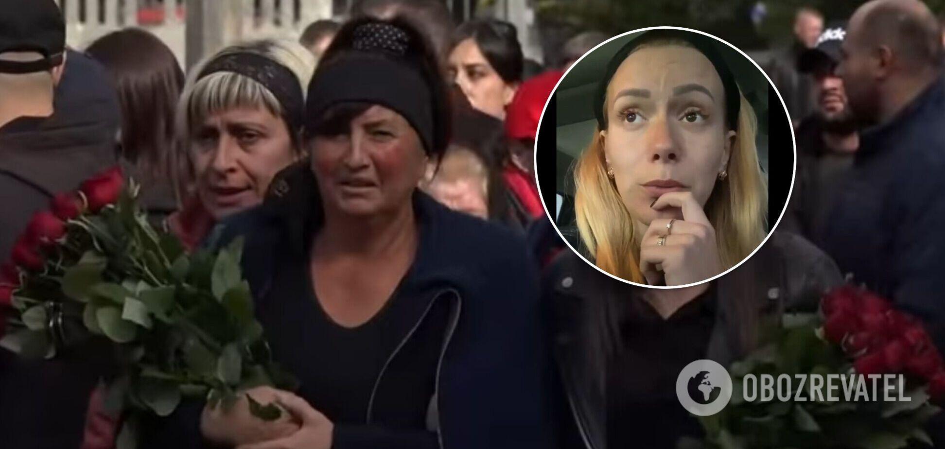 'У мене забирали телефон, щоб я не побачила вбивство чоловіка': вдова чернігівського поліцейського розповіла про трагедію. Відео