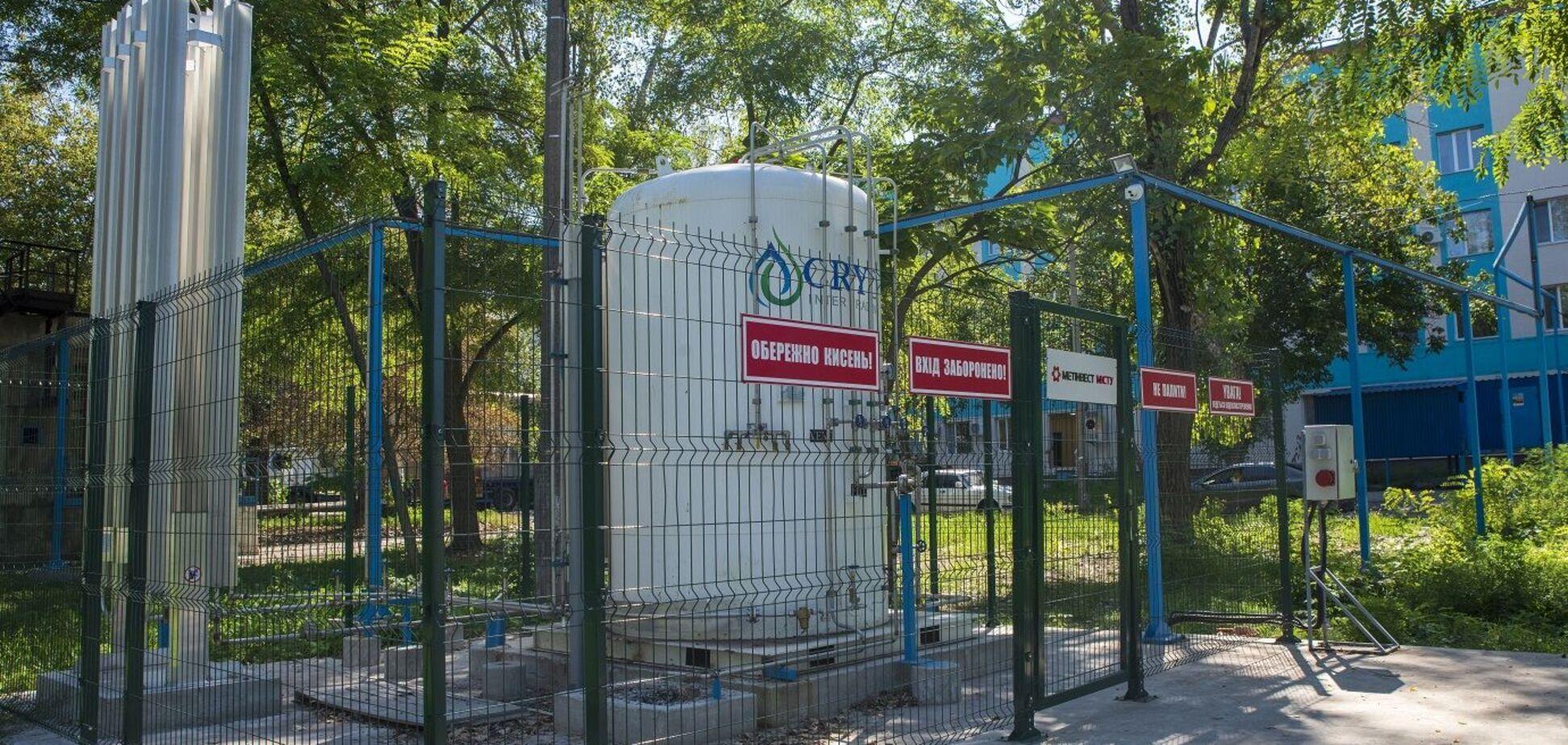 У вересні лікарні Донецької області отримали нові поставки кисню від 'Метінвесту'