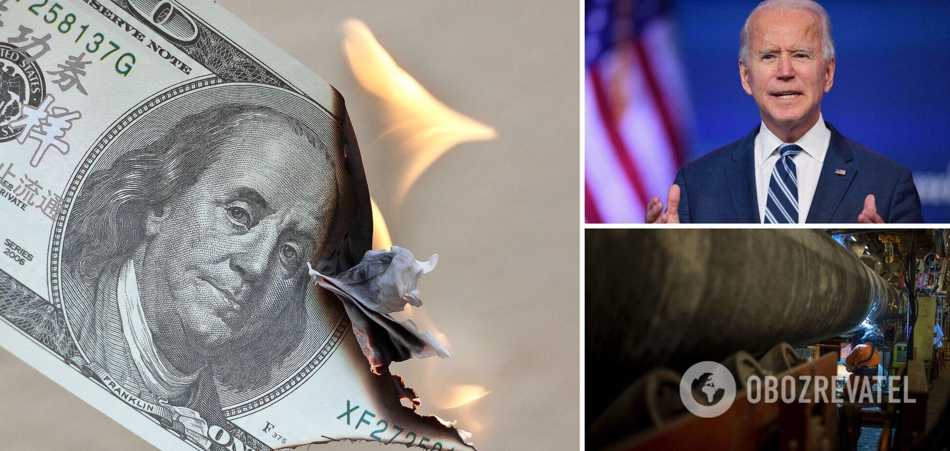 Байден заявив, що дефолт у США поставить під загрозу долар як світову валюту
