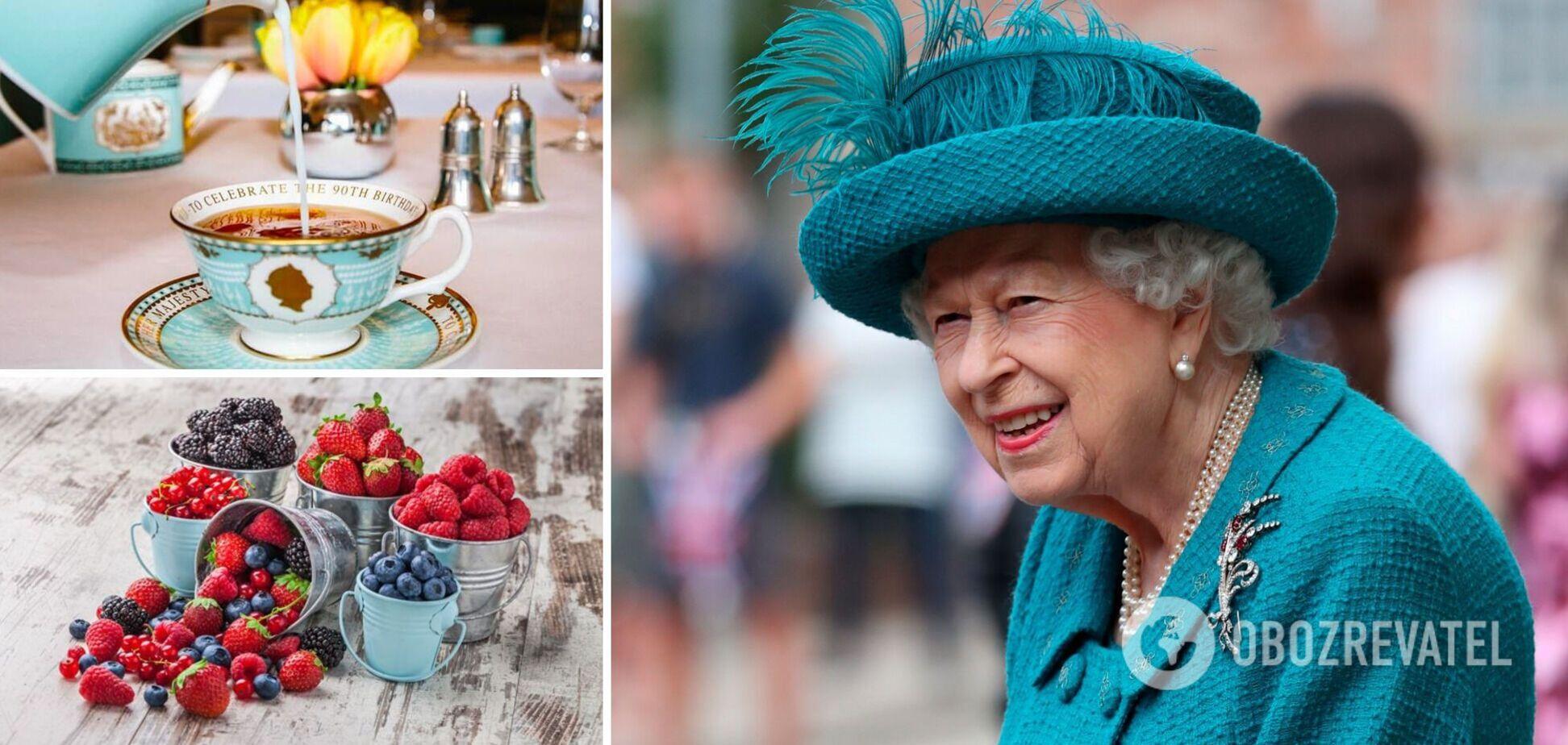 Королева Єлизавета ІІ має свої харчові звички і традиції