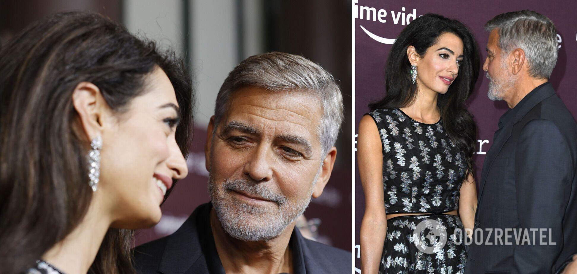 Джордж Клуні з дружиною вперше за три роки вийшли у світ. Фото