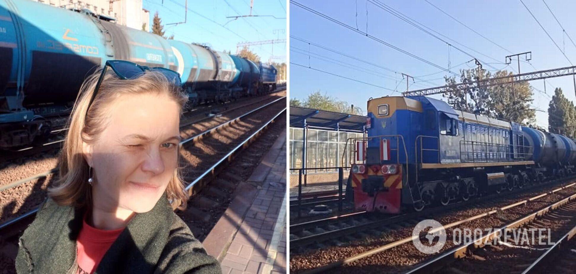 Поїзд приїхав із 50-хвилинним запізненням