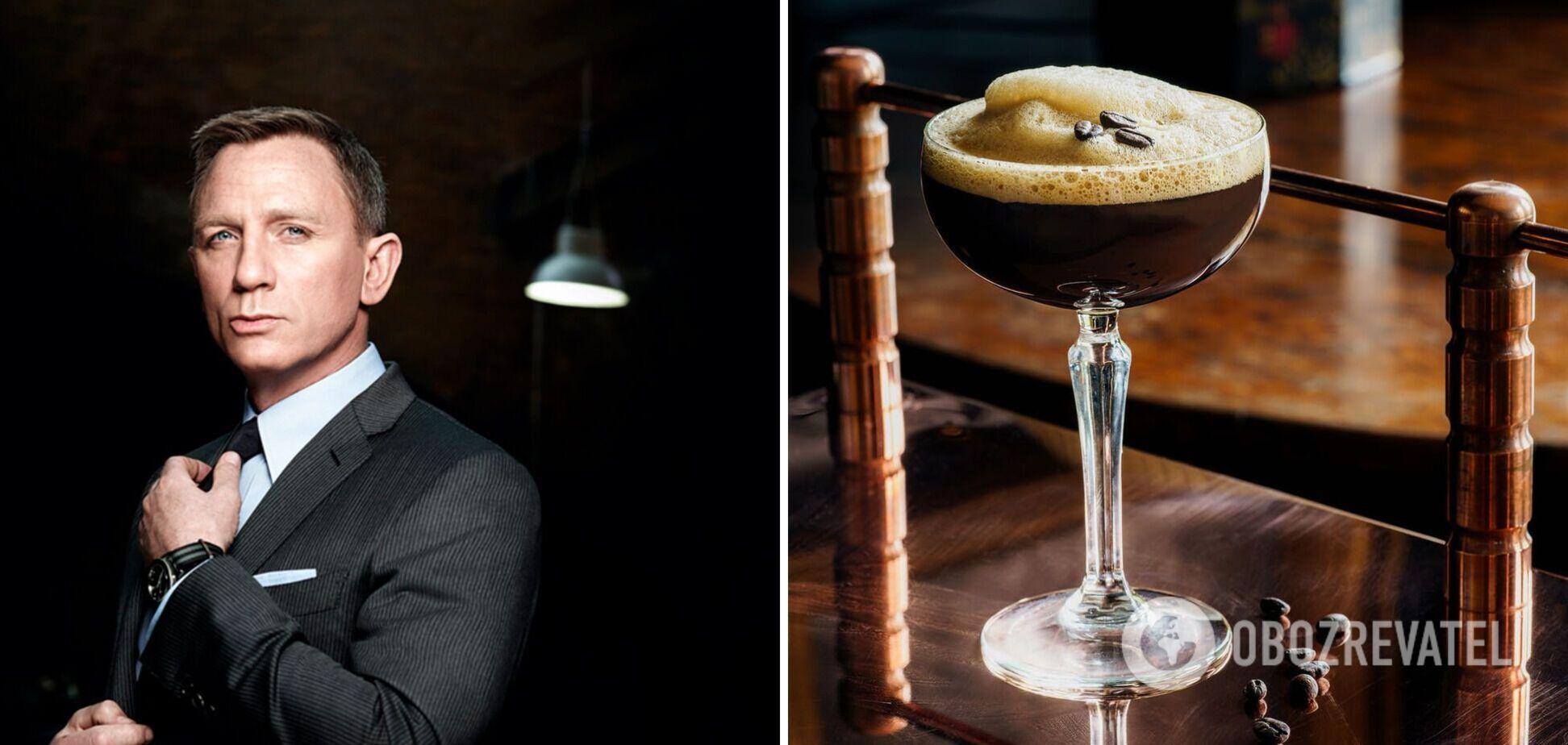 Що п'є Джеймс Бонд: рецепти улюблених коктейлів агента 007