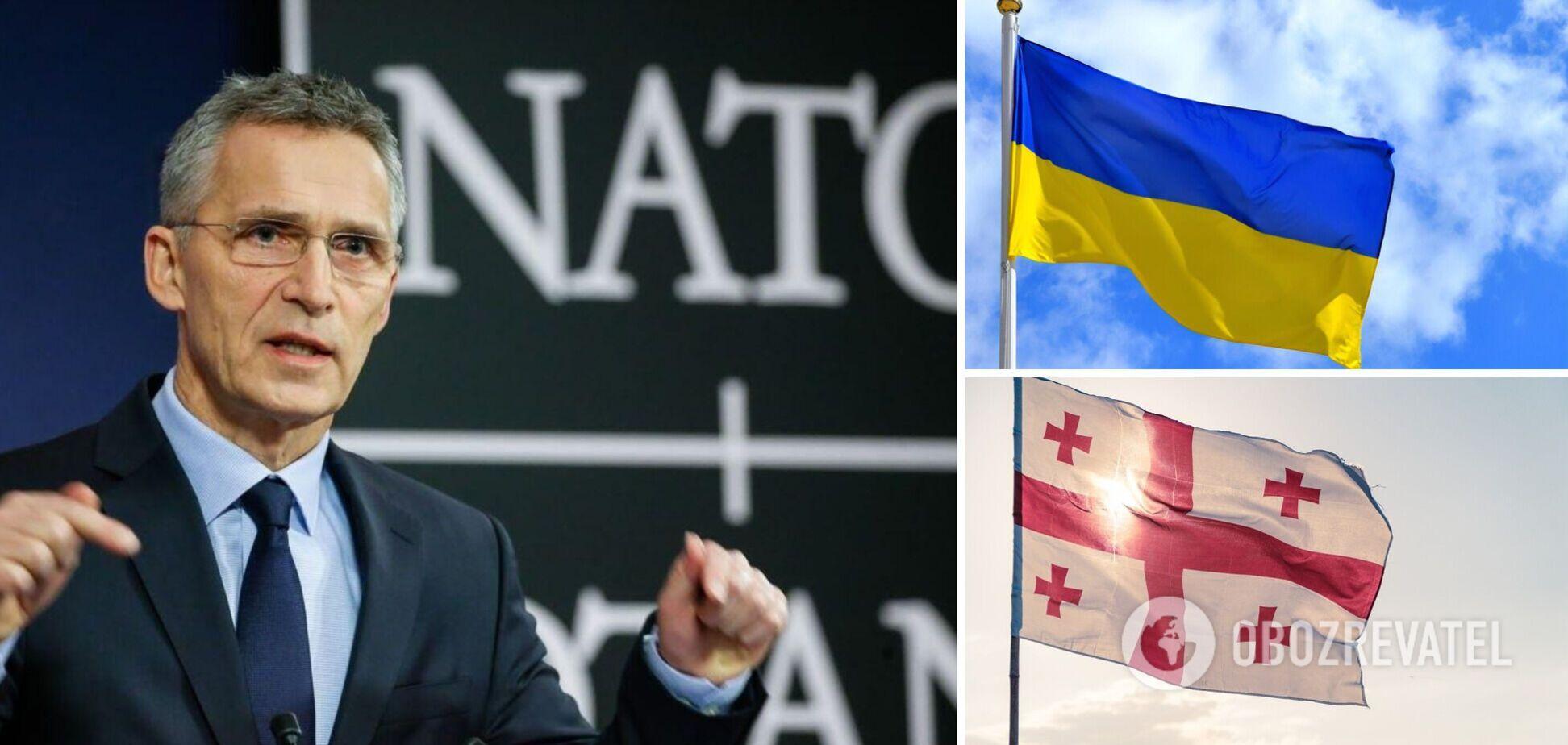 Столтенберг про вступ України у НАТО: це станеться, але не 'завтра'