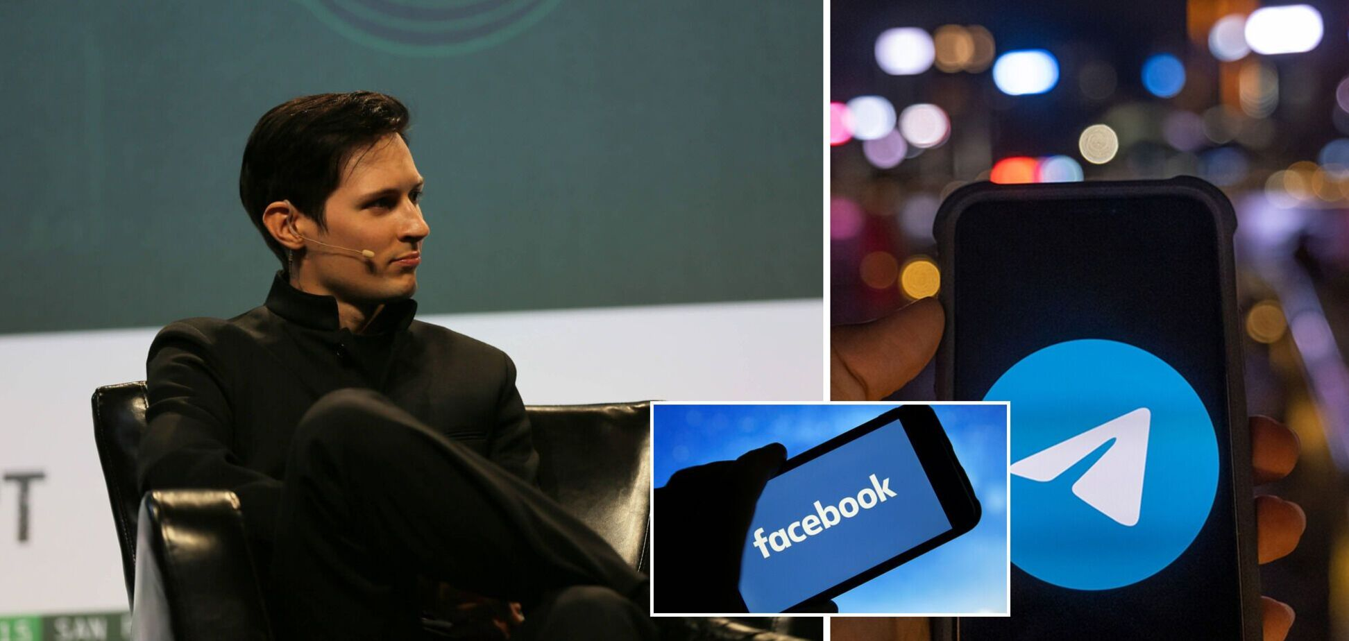 Дуров назвав кількість нових користувачів Telegram після масштабного збою Facebook та Instagram
