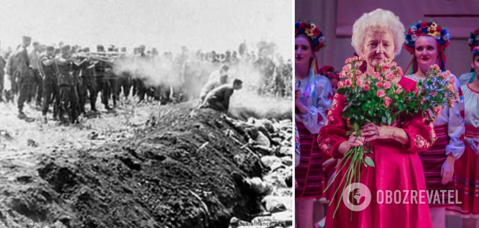 'Их еще живыми закапывали': история последней свидетельницы расстрелов в Бабьем Яру Раисы Майстренко