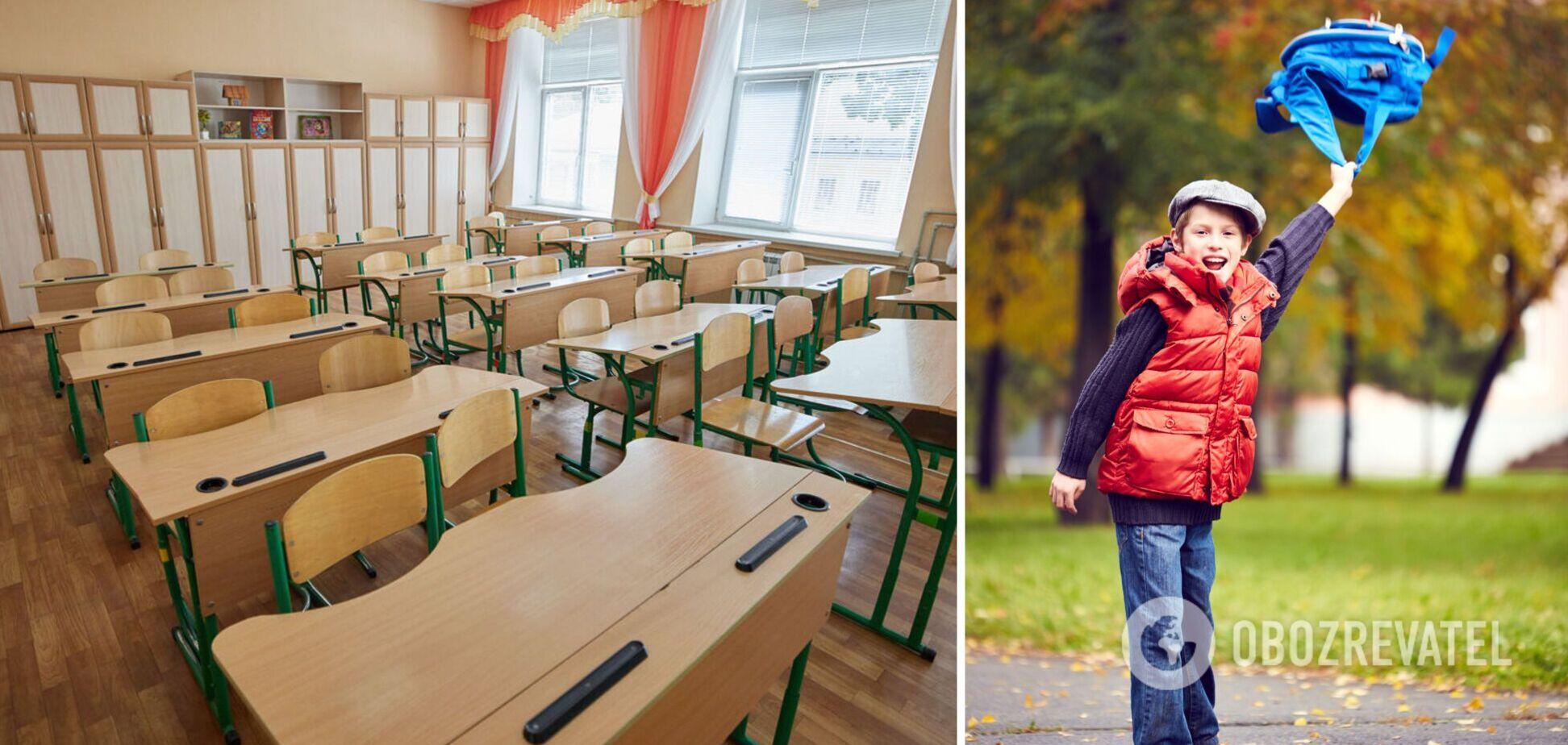 Осінні канікули для українських школярів стартують 25 жовтня