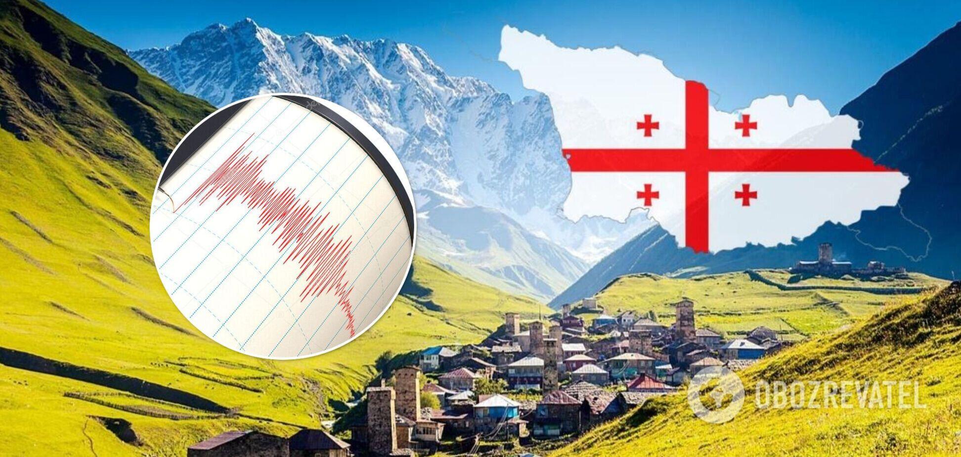 У Грузії трапився землетрус магнітудою 4,1: перші подробиці