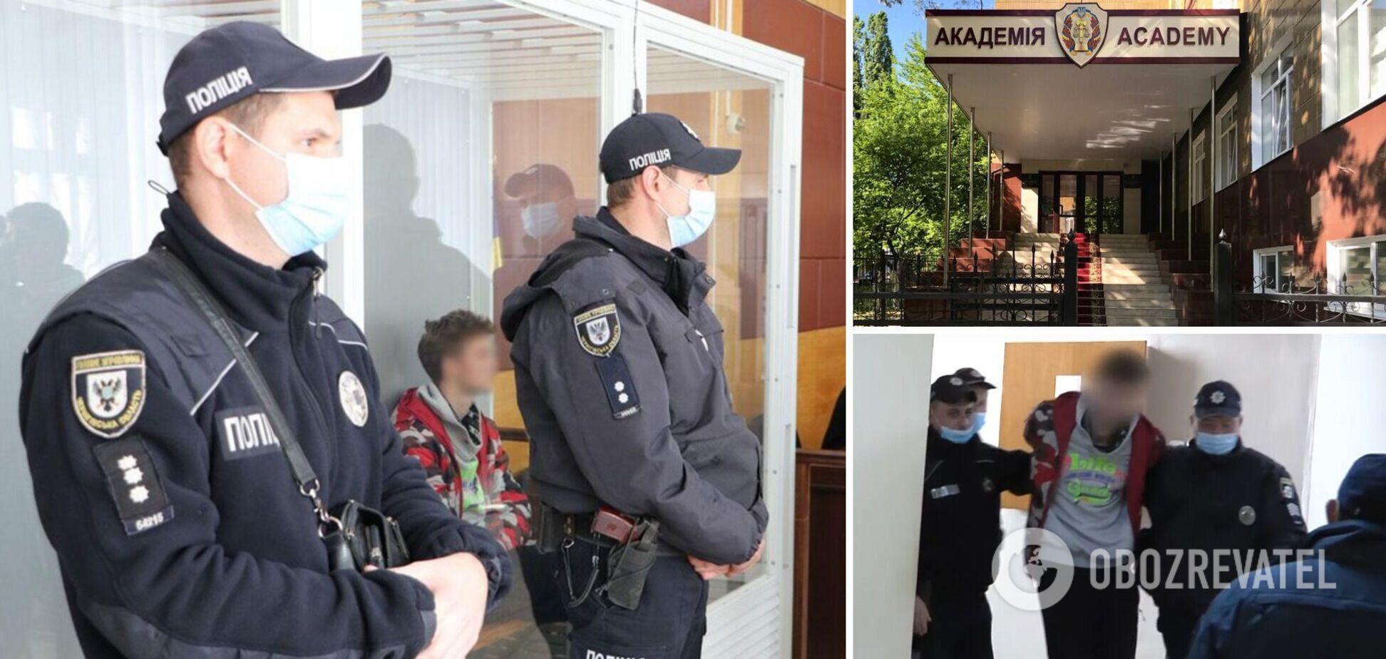 Бійка з поліцейськими в Чернігові