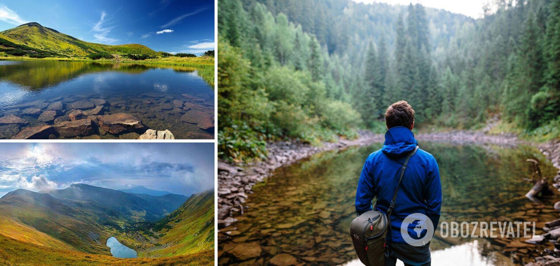 Топ-5 самых красивых озер Украины, о которых вы не слышали