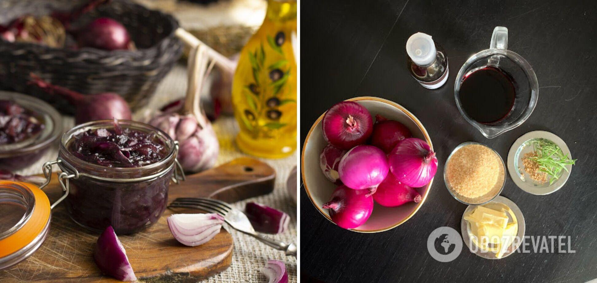 Цибулевий конфітюр – бездоганний соус: експерт поділилася рецептом і порадами