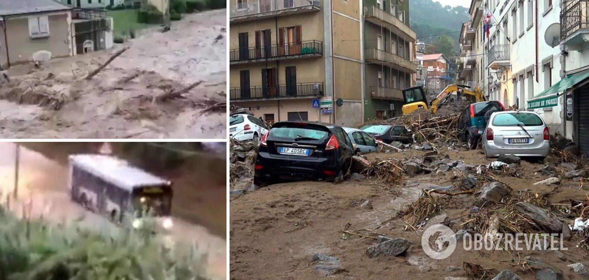 В Італії через потужні зливи й повені призупинили місцеві вибори. Відео