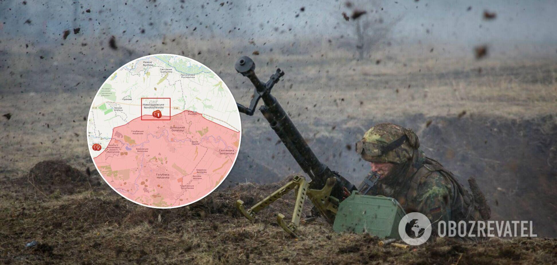 Окупанти накрили вогнем позиції ООС на Донбасі, поранено українського військового