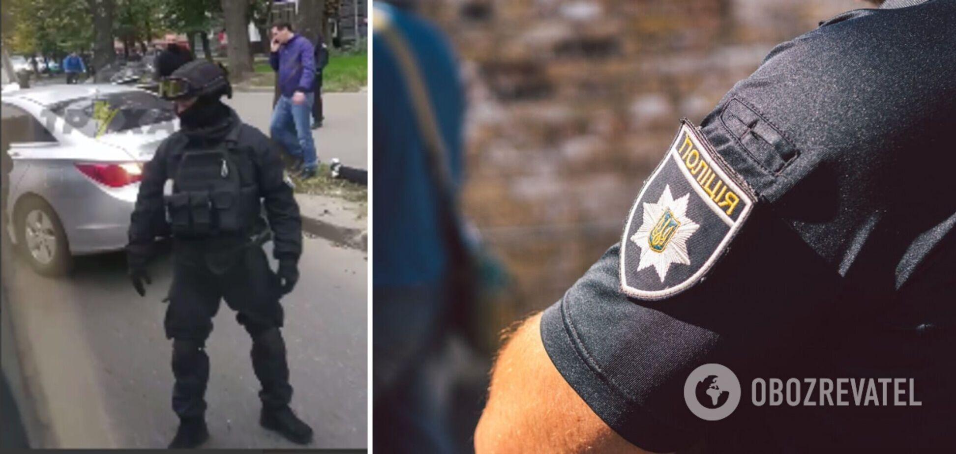 В Харькове полицейские задержали вымогателей из банды 'Рэмбо'. Фото и видео