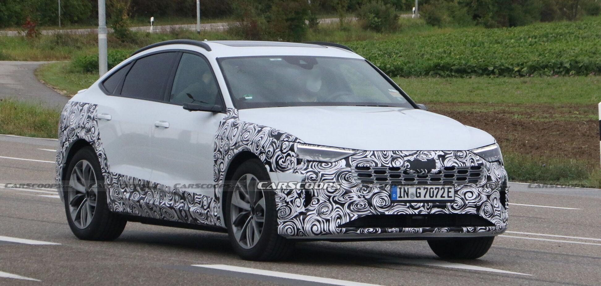 Audi вивела на тести оновлений e-tron Sportback
