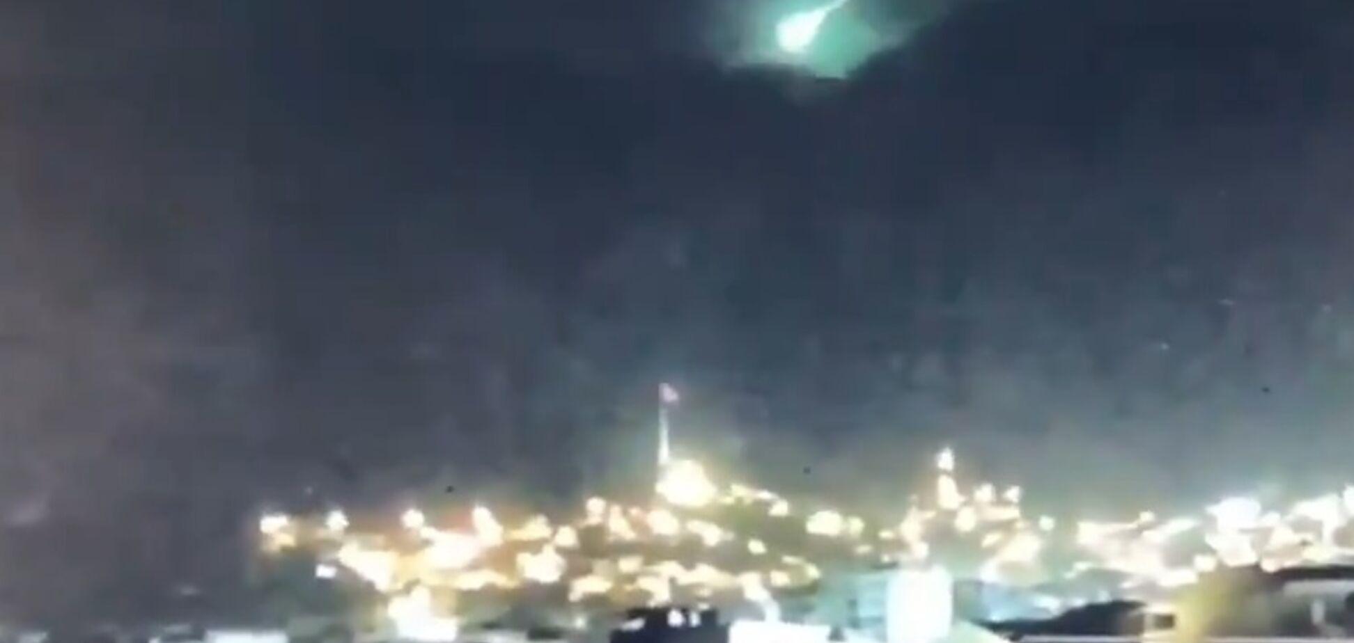 В США пролет метеорита зафиксировали на камеру