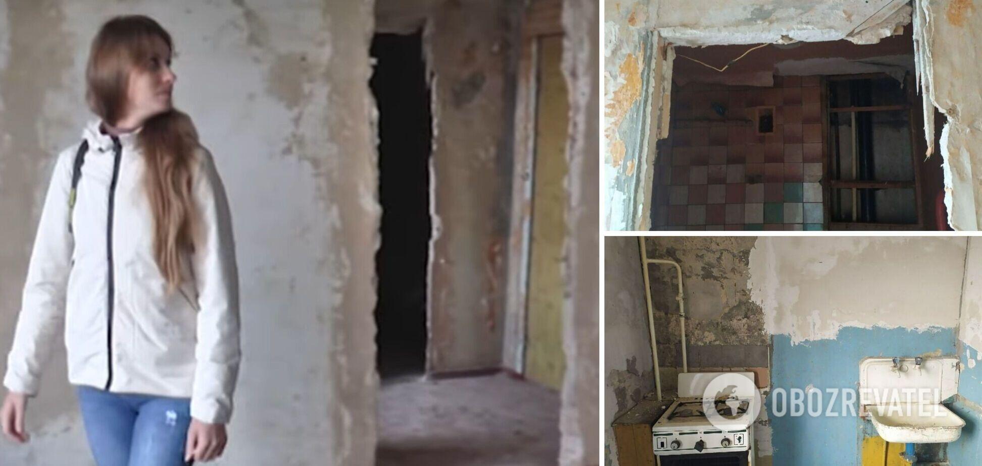 У Кропивницькому вдові воїна АТО дали квартиру, в якій неможливо жити. Фото і відео