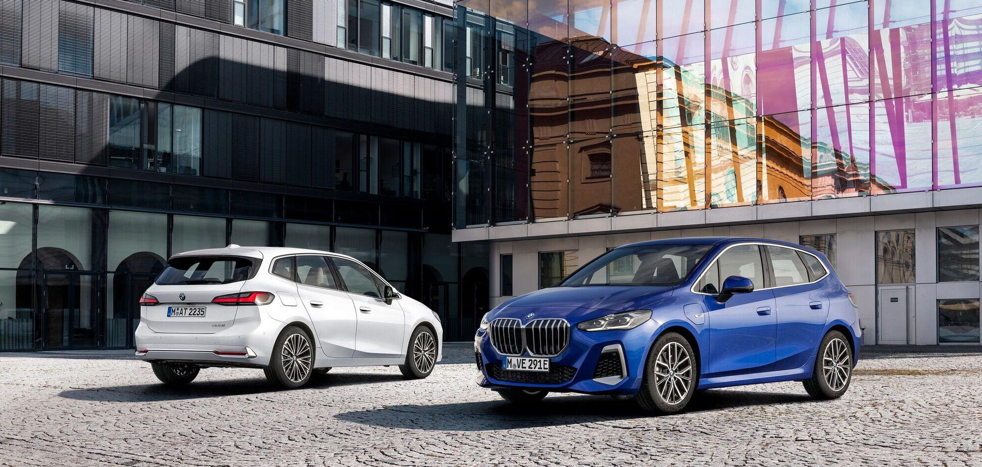 BMW презентувала 2-Series Active Tourer нового покоління