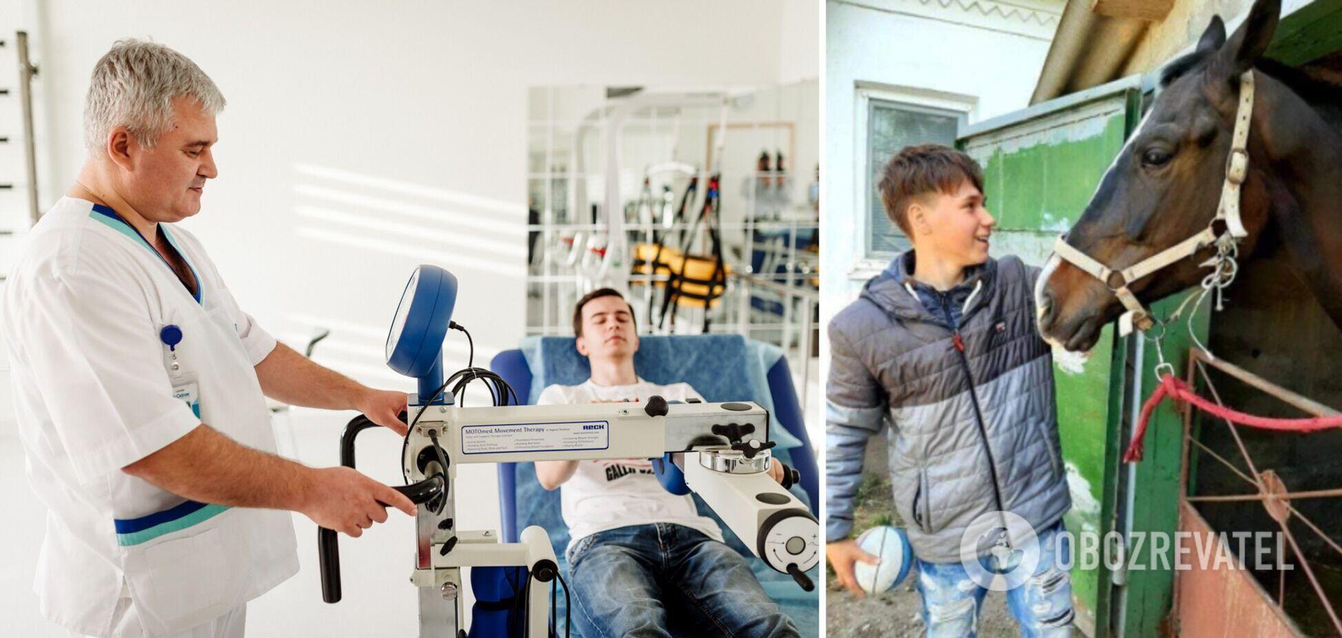 Вчиться заново ходити: з'явилися дані про стан 15-річного підлітка з Дніпра, який пережив інсульт і кому