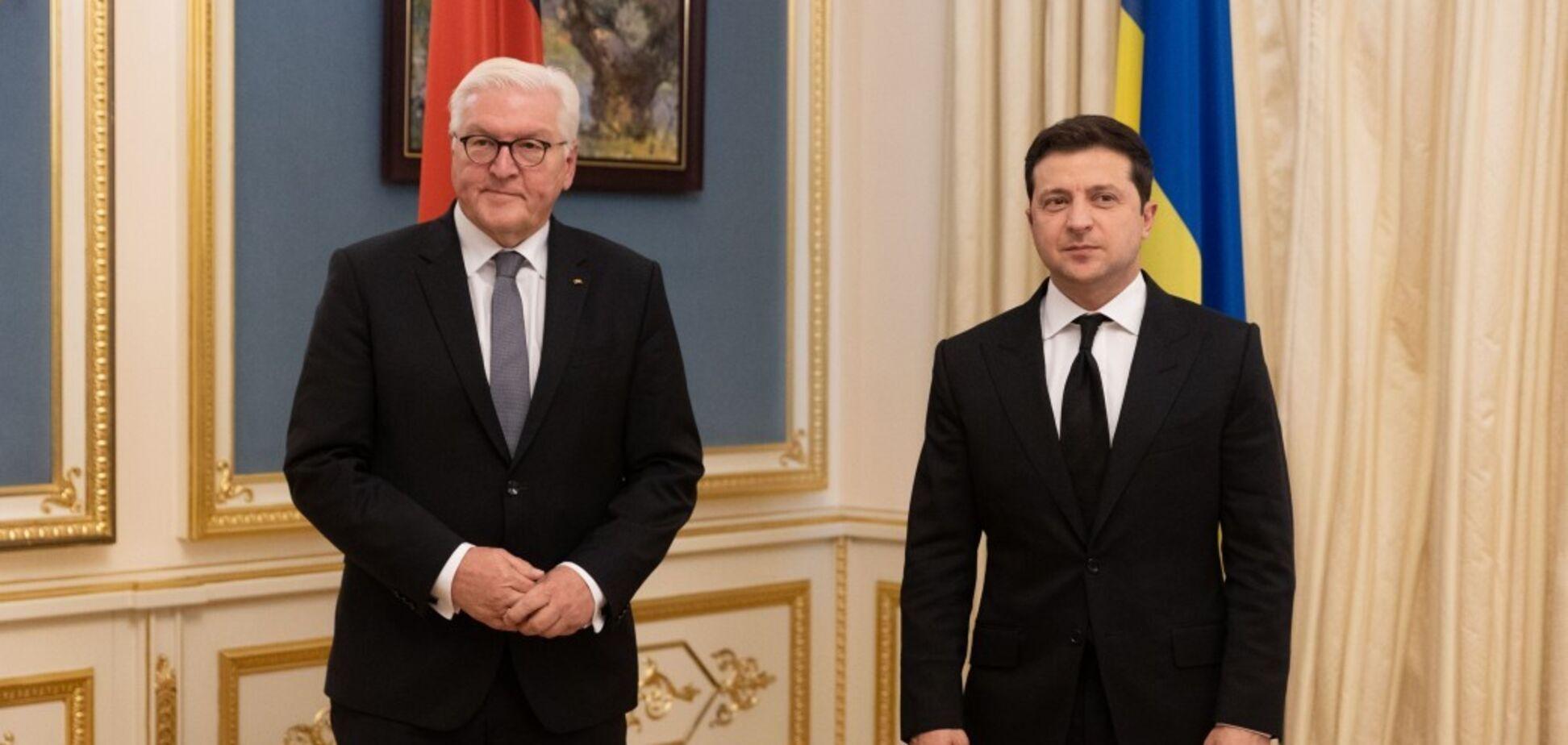 Війна на Донбасі, вибори і 'Північний потік-2': головне із зустрічі Зеленського і Штайнмаєра