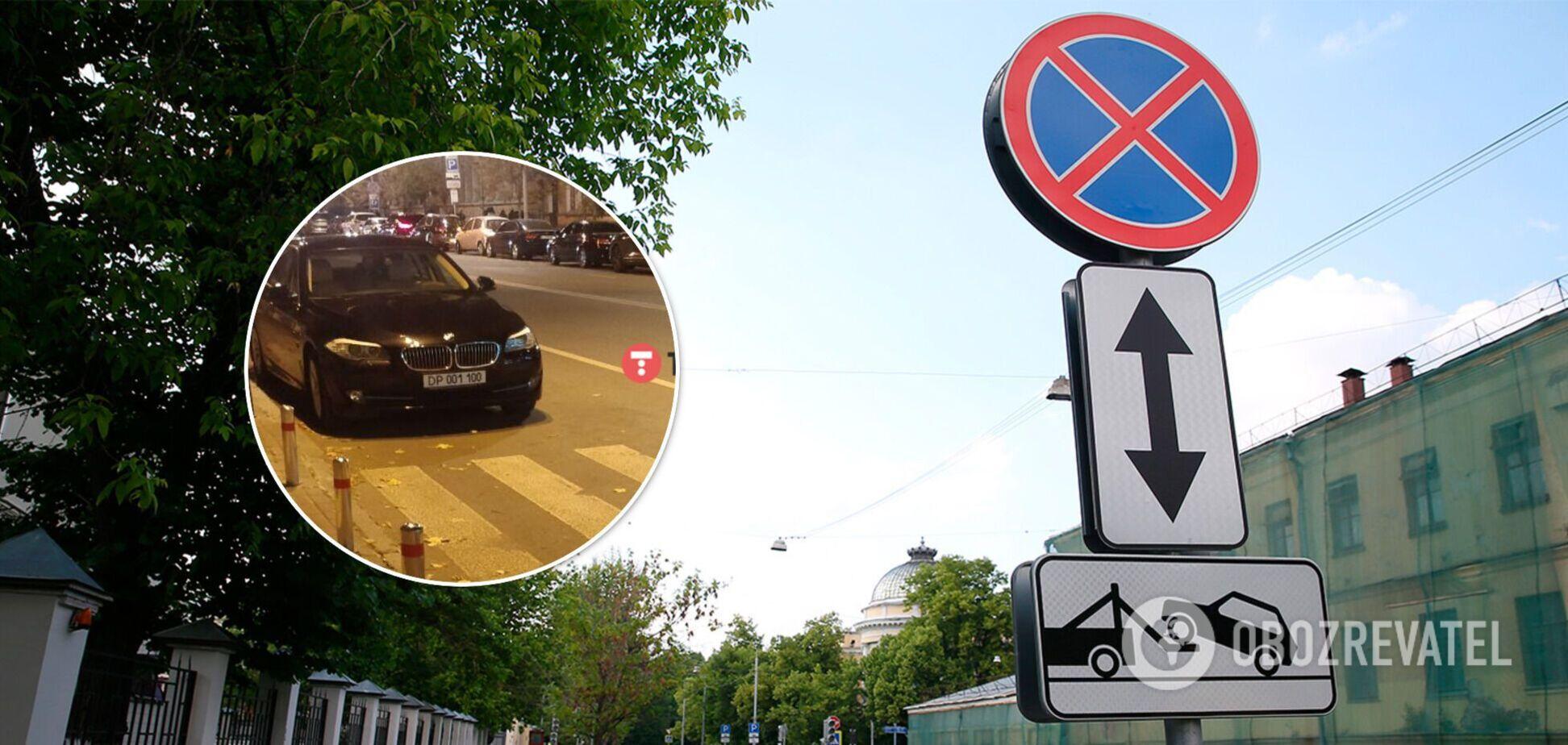 Водієві автомобіля з дипномерами нічого не загрожує