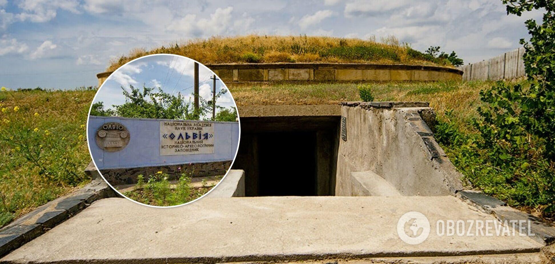 Українські археологи виявили загадковий склеп на території стародавньої Ольвії