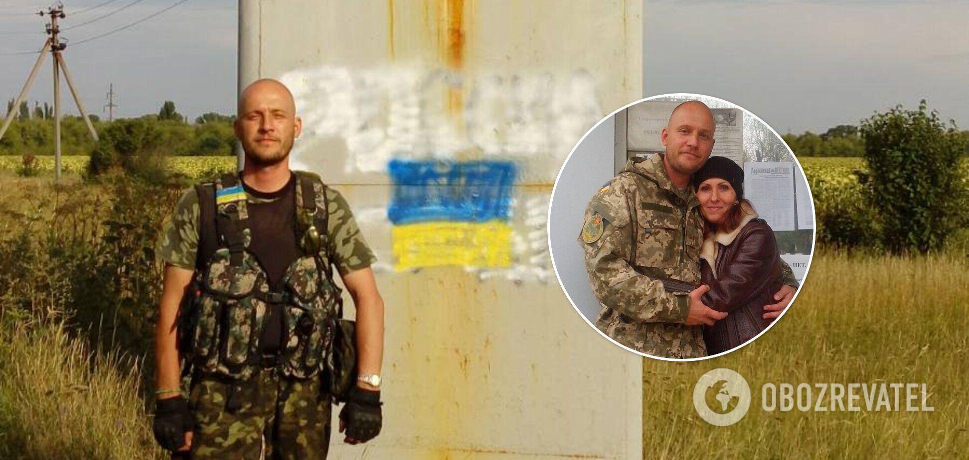 Украинский военнослужащий Олег Табачук борется с опухолью мозга
