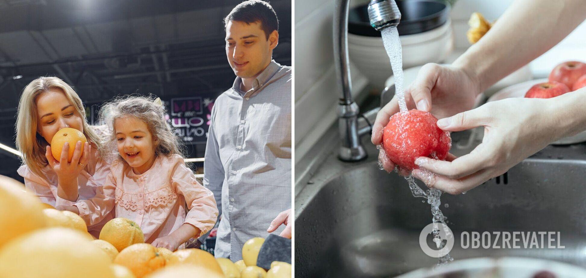Які продукти не можна мити перед приготуванням – пояснює експерт