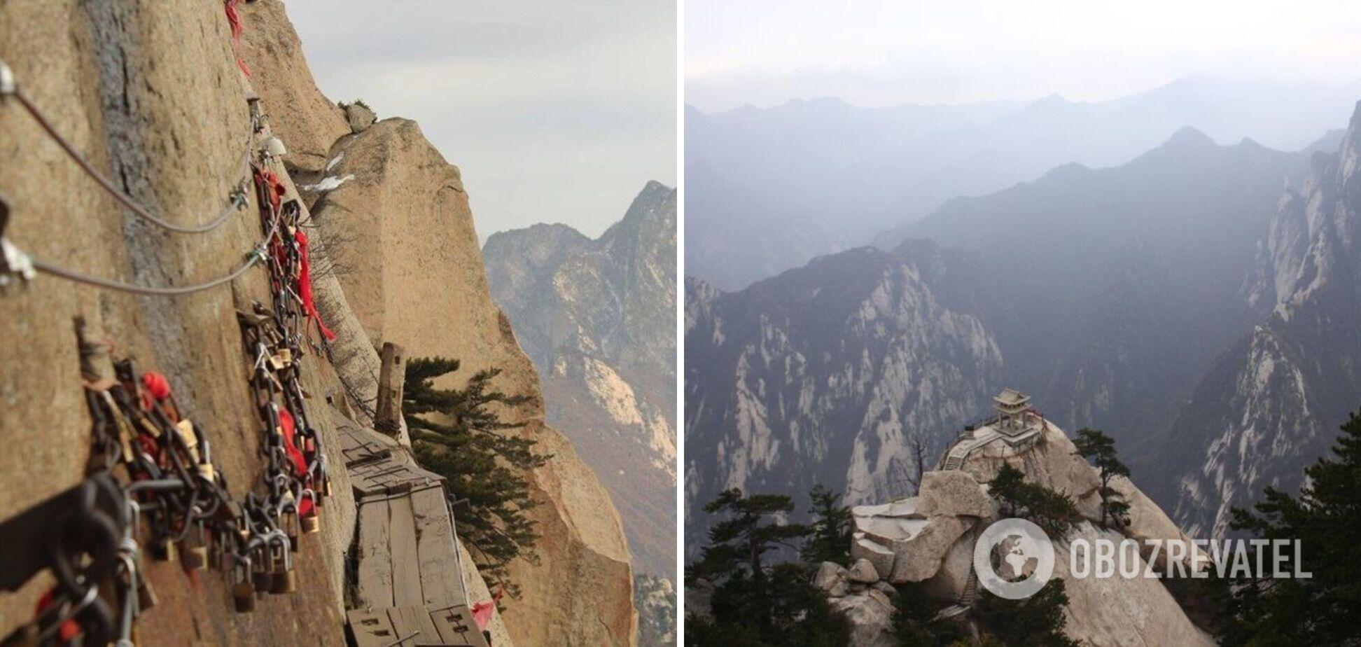У Китаї запрацював екстремальний атракціон 'стежка смерті'. Фото