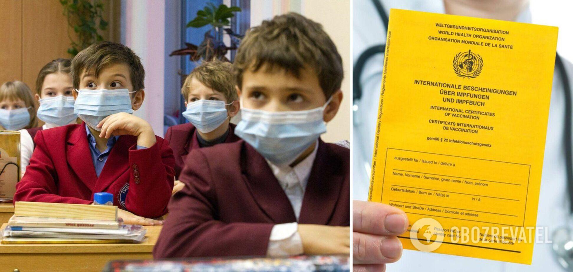 Директорів шкіл Києва будуть звільняти за підтасовування даних про вакцинацію: в КМДА озвучили деталі
