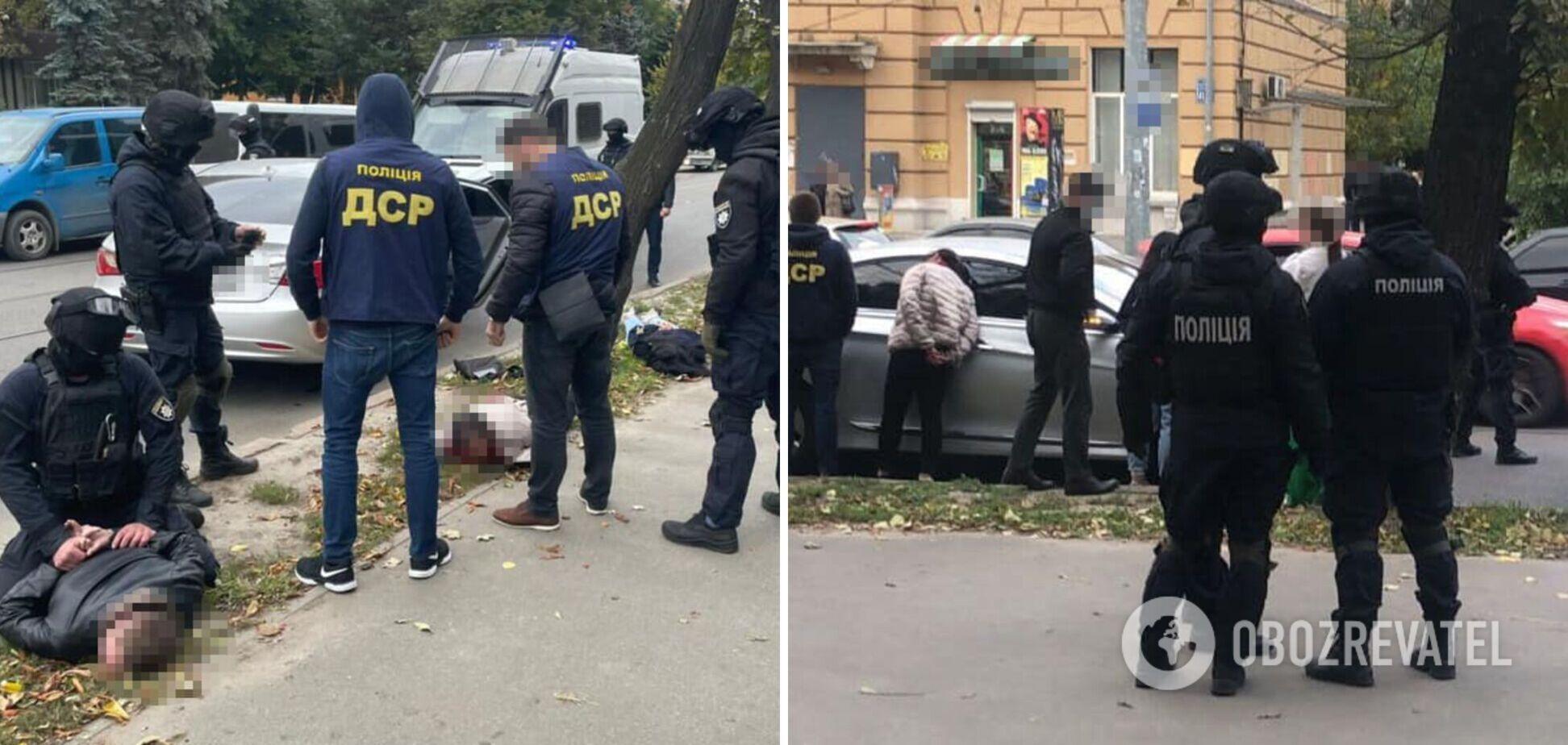 На Харківщині затримали банду, яка викрадала людей і примушувала 'віддати' нерухомість. Фото