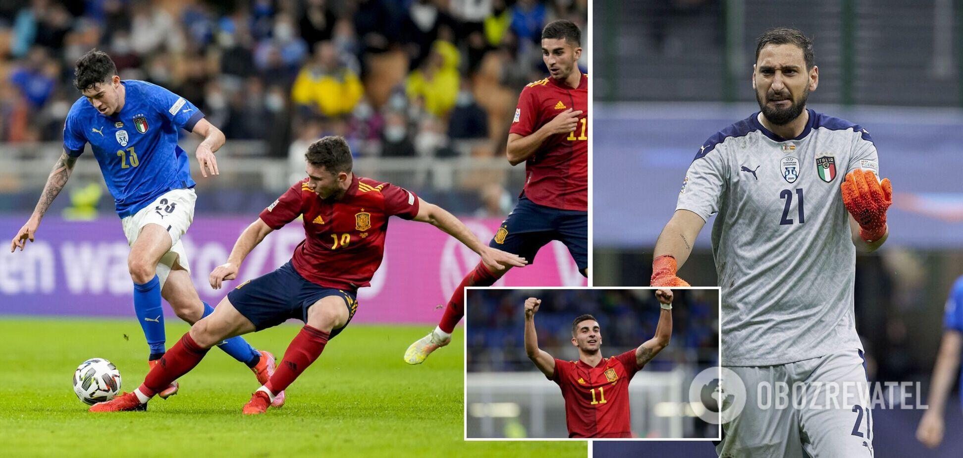 Испания забила дважды итальянцам