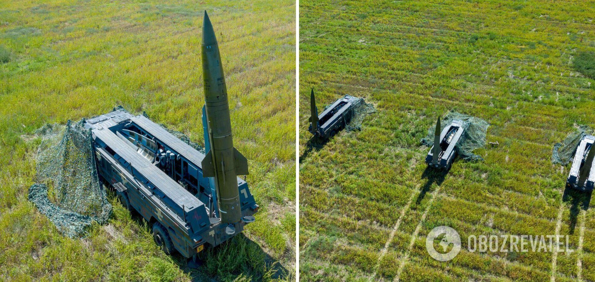 Українські військові відпрацювали ракетні удари по 'ворогу' з ТРК 'Точка У'. Фото і відео