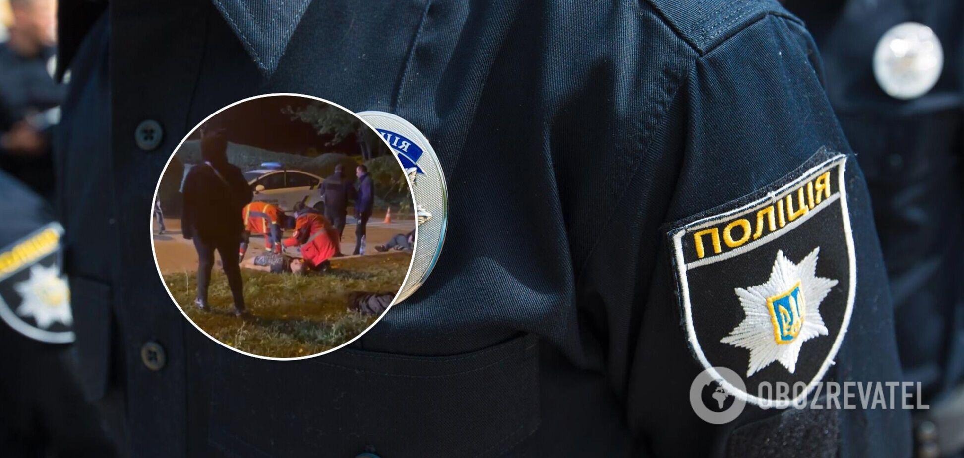 У Харкові 'розбірки' на вулиці завершилися різаниною, постраждали три особи. Фото і відео