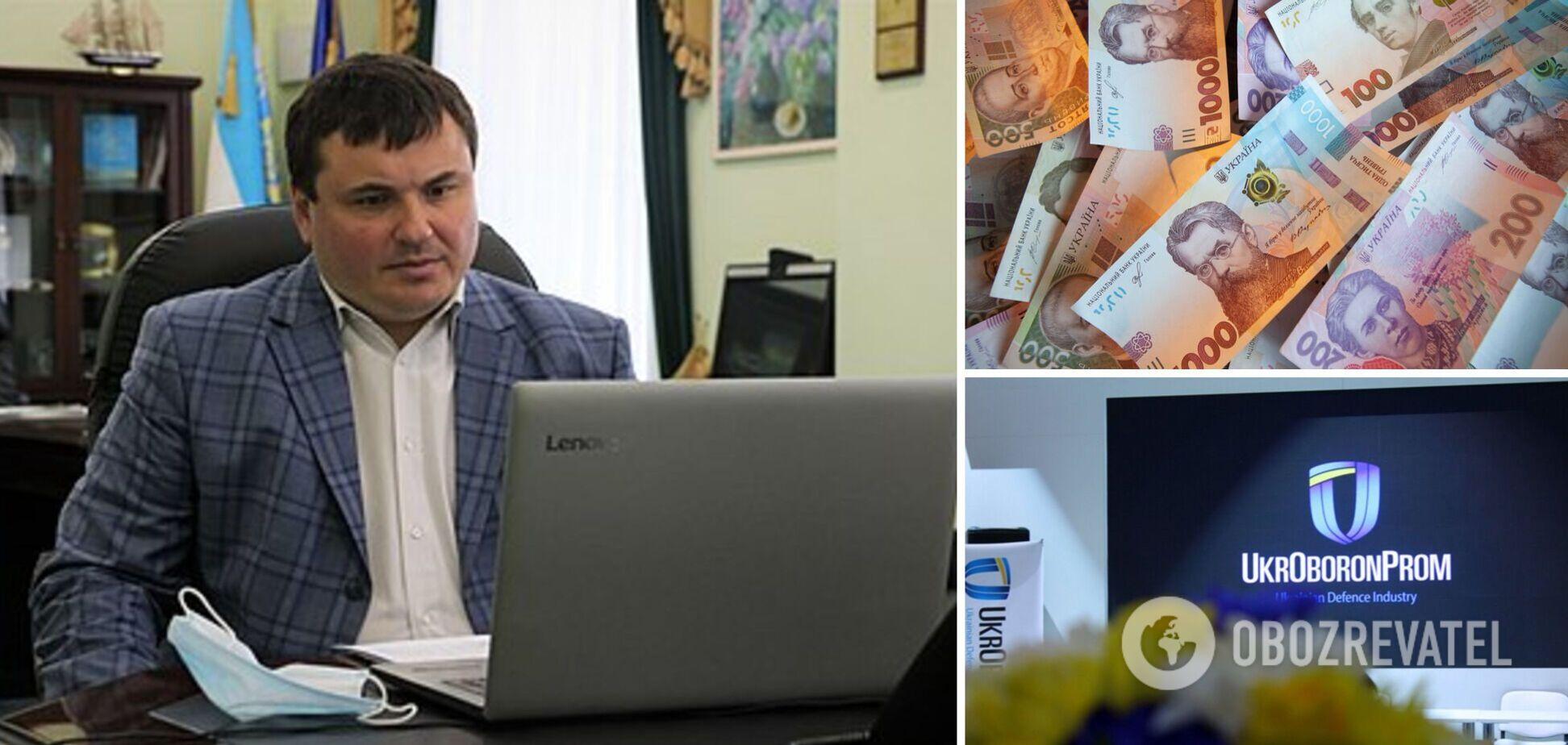 Глава 'Укроборонпрому' Гусєв підняв собі зарплату до 474 тис. грн