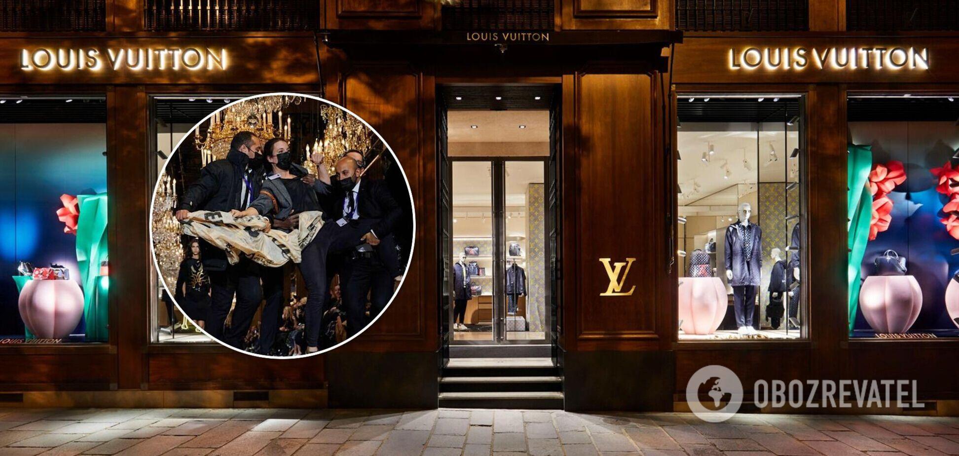 Модний показ Louis Vuitton