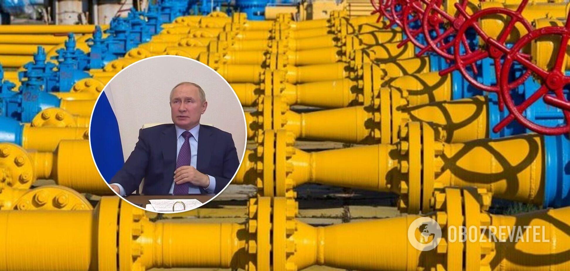 'Газпрому' выгоднее заплатить штраф: Путин заговорил о контракте с Украиной и экологии. Видео